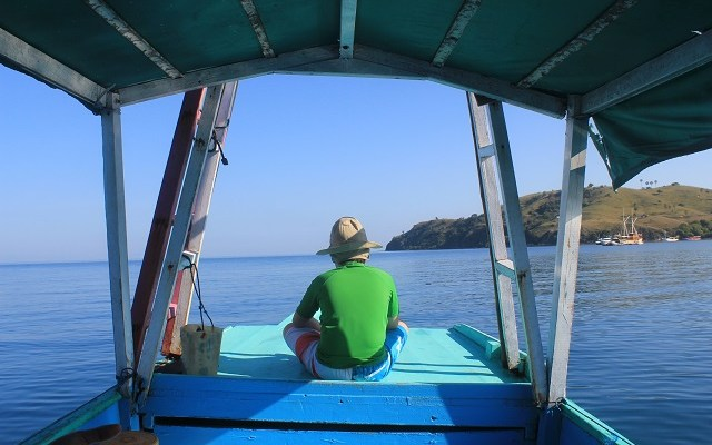 Two Worlds Treasures - on our way to Rangko Cave, Labuan Bajo, Flores, Indonesia.