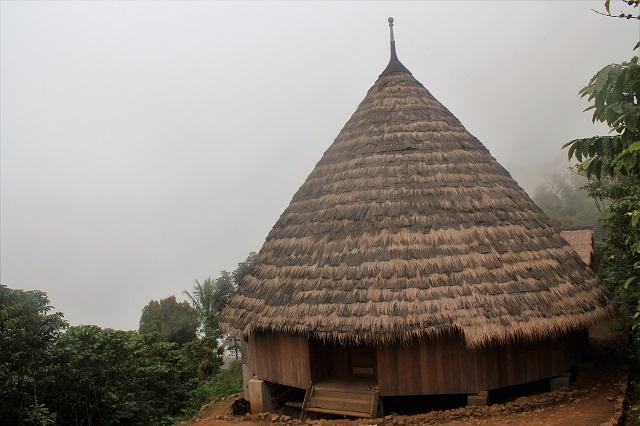 Two Worlds Treasures - new house at Wae Rebo Village, Wae Rebo, EAst Nusa Tenggara, Indonesia.
