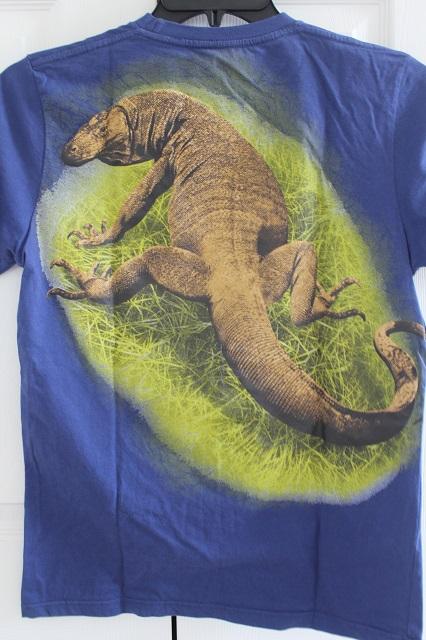 Two Worlds Treasures - my Komodo Dragon t-shirt