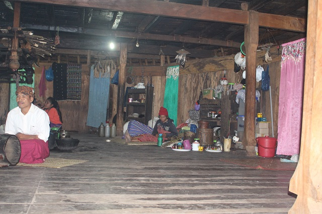 Two Worlds Treasures: inside Niang Gendang: Wae Rebo, Flores, Indonesia.