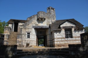 Longhorn Cavern - the CCC administration building - Burnet, TX - Two Worlds Treasures