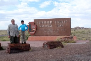 Petrified Forest National Park - South Entrance - Two Worlds Treasures