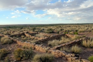 Petrified Forest National Park - petroglyph at Puerco Pueblo ruin - Two Worlds Treasures