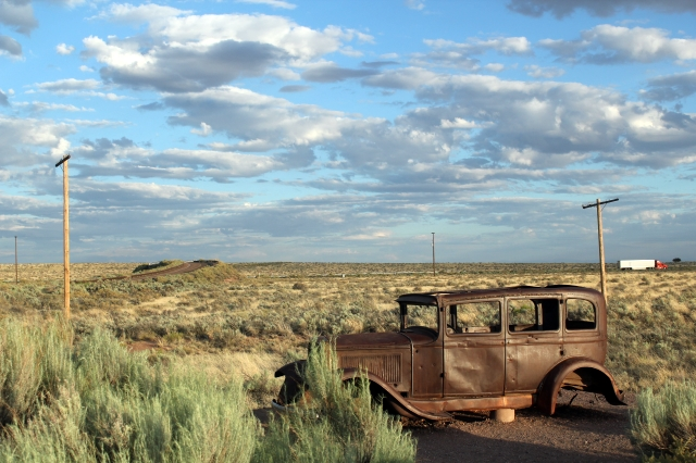 Petrified Forest National Park - Historic Route 66 - Two Worlds Treasures