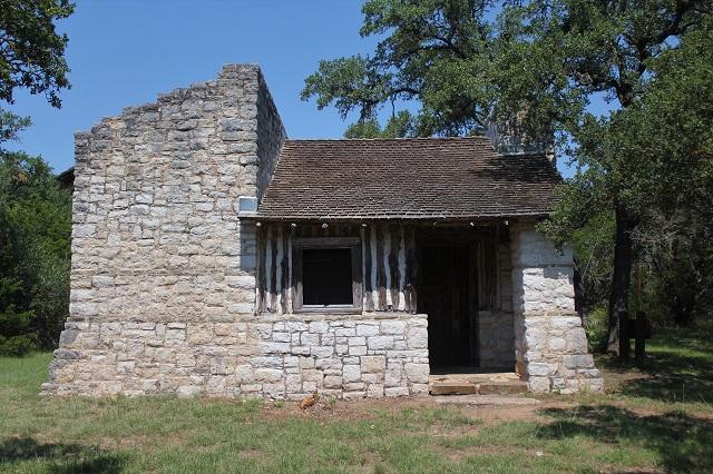 Longhorn Cavern - Burnet, TX - Officers Quarters - Two Worlds Treasures