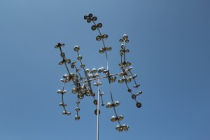 Hanna Springs Sculpture Garden - Lampasas TX - Starburst - Two Worlds Treasures