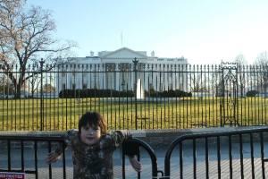 Visiting Washington, D.C. during Christmas Break-White-House
