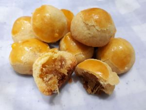 Indonesian cookies for the holiday - nastar