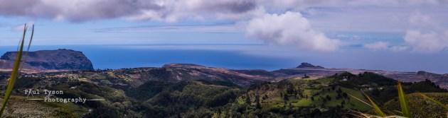 Longwood, Prosperous Bay and the Barn from Cuckholds Peak
