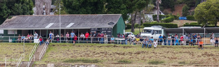 Some of the spectators creating a great atmosphere