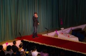 Me, singing!