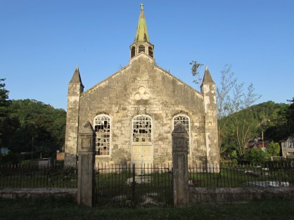 Anglican Church- Erected by slaves