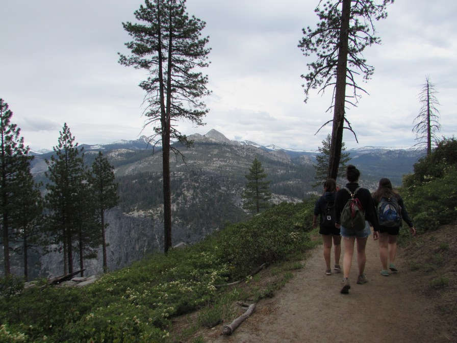 Hiking in Yosemite