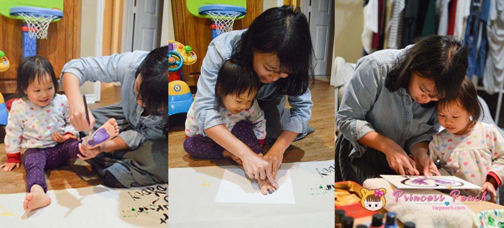 寶寶腳印畫