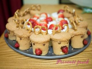 麋鹿杯子蛋糕