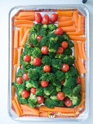 花椰菜耶誕樹