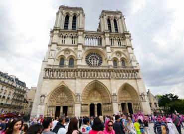 巴黎聖母院 Cathedrale Notre Dame de Paris