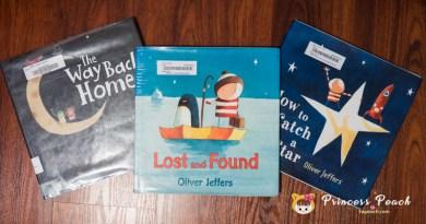 [英文繪本] 2Y 娃的書櫃 – 小暖男情義相挺的冒險之旅 by Oliver Jeffers~!!