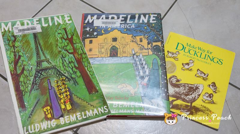 [英文繪本] 2Y 娃的書櫃 – 法國寄宿學校生活 Madeline 繪本 (瑪德琳)~!!