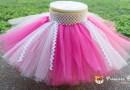 [媽媽手作] 可愛又華麗的寶寶紗裙 (tutu DIY)