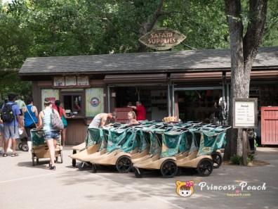 Fort Worth Zoo 動物園推車