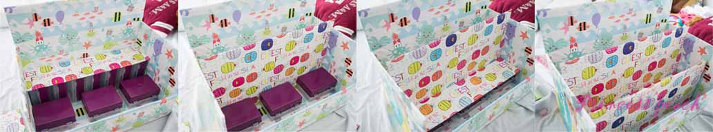 寶寶展示書櫃 DIY 步驟