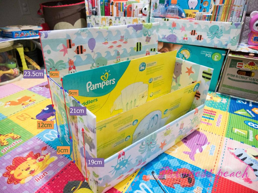 寶寶展示書櫃 DIY 尺寸圖