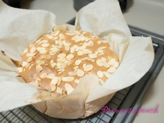 蜂蜜杏仁海綿蛋糕