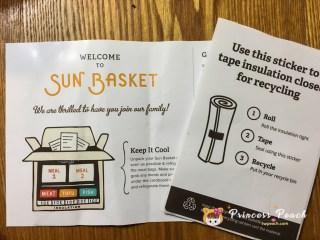 Sun Basket 說明書