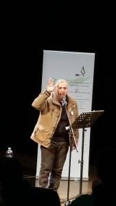 عمار الجمعة في مهرجان القصيدة السورية الاول .