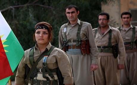 کوردستان اشتباكات بين البيشمركة وقوات الباسدار الإيرانية في سردشت بكوردستان إيران