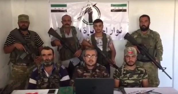 فيديو (ثوار الكرد الشرفاء) يعلنون انضمامهم لفصيل ثوار الجزيرة السورية