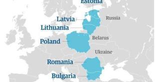 حشود أوروبية على الحدود الروسية