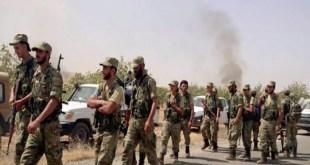 """فصائل """"درع الفرات"""" تصطدم مع قوات الأسد للمرة الأولى ... هجمات برية وقصف جوي"""