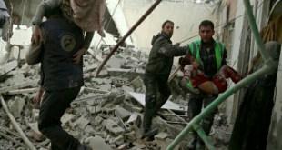 مقتل 16 مدنيا في ضربة جوية لقوات التحالف الدولي بقيادة أميركية على قرية قرب مدينة الرقة في شمال سوريا