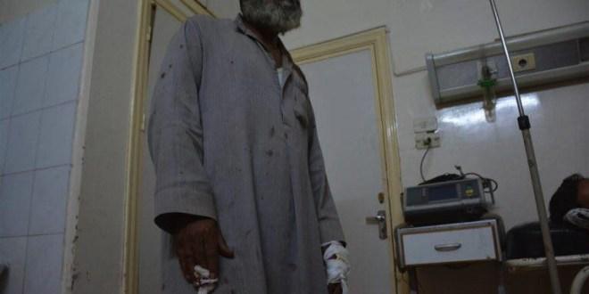 شهيدين وأربعين جرحى بانفجار لغم أرضي والوحدات الكردية ترفض إسعافهم