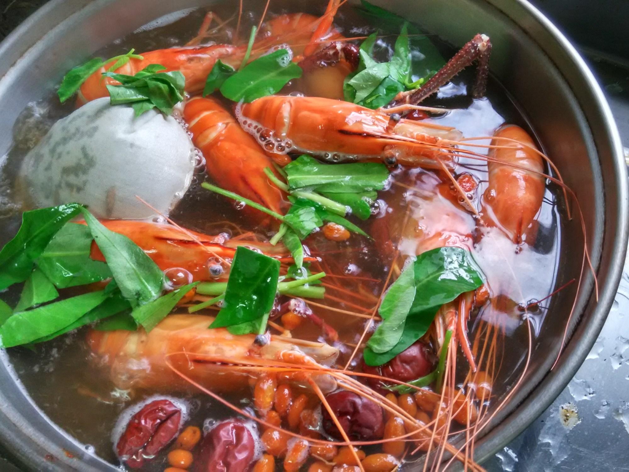寶島小蝦米-藥膳泰國蝦 – 寶島小蝦米美食廚房