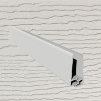 6mt Embossed Cladding 2 Part U-Channel White