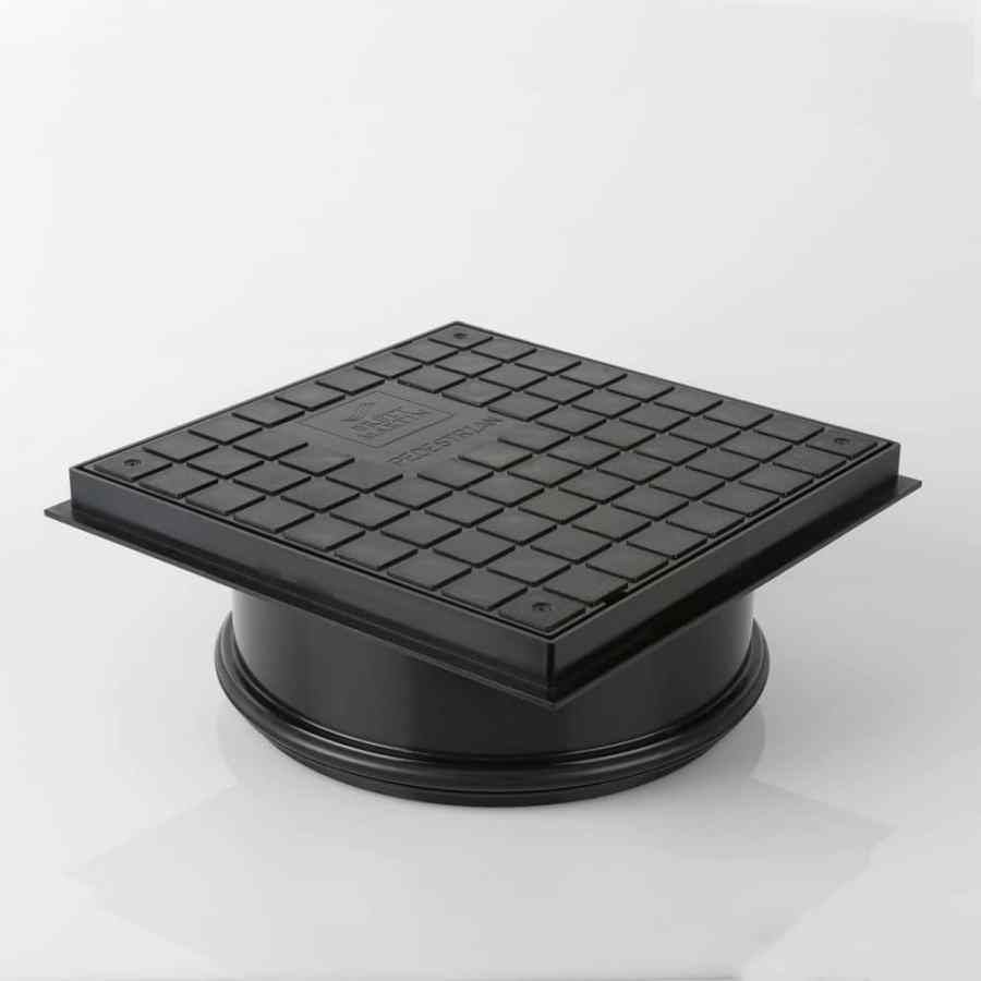 315mm Dia Shallow Access Chamber Sealed Manhole Cover & Frame Driveway 3.5t