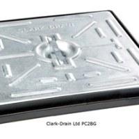Clark-Drain PC2BG 300 x 300 Galvanised Cover-Frame 5ton