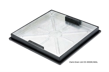 Clarks CD450SR/46SL 450x450 Recessed Block Pavior 10ton