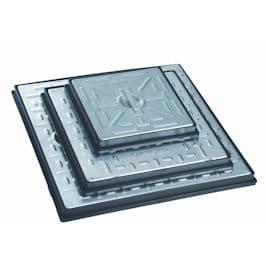 Galvanised Steel Solid Top