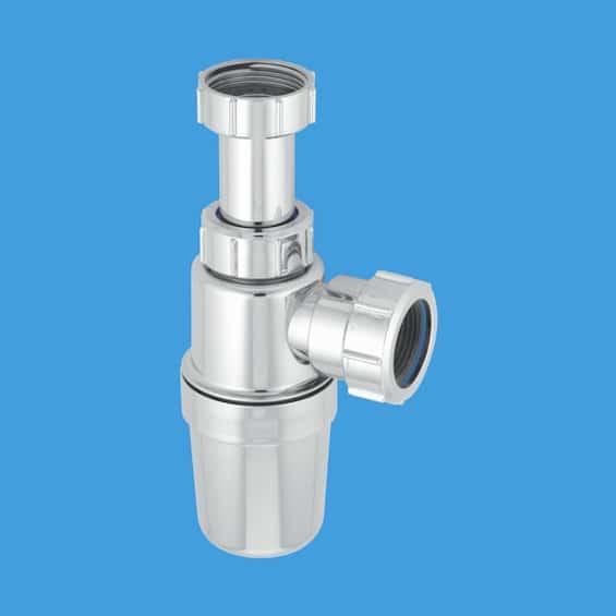McAlpine C10ARCP 40mm Chrome Plated Telescopic Bottle Trap