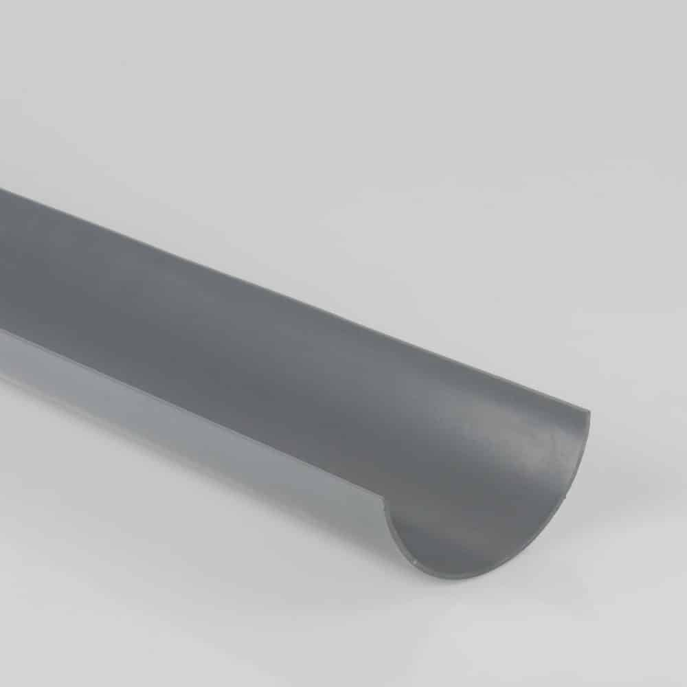 Roundstyle 112mm x 4m Gutter Light Grey