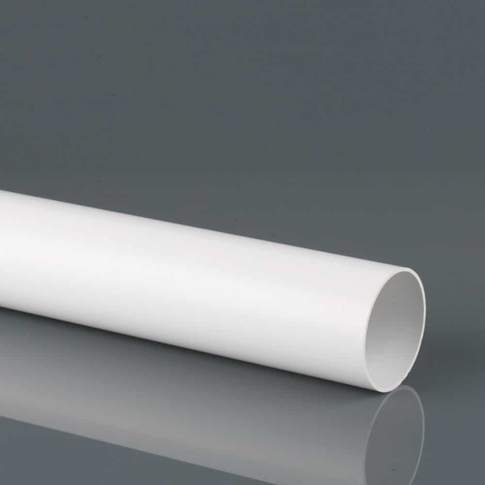 68mm White Round Style Down Pipes