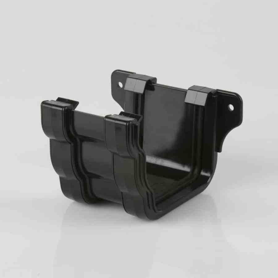 Union Bracket 106mm Ogee Prostyle Black