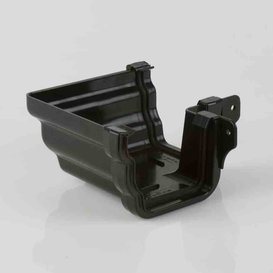External 90d Angle 106mm Ogee Prostyle Black