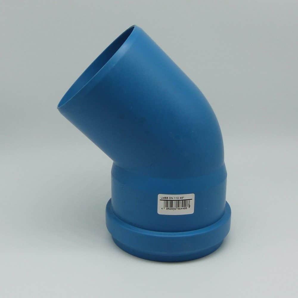 110mm Single Socket 45' Acoustic Bend