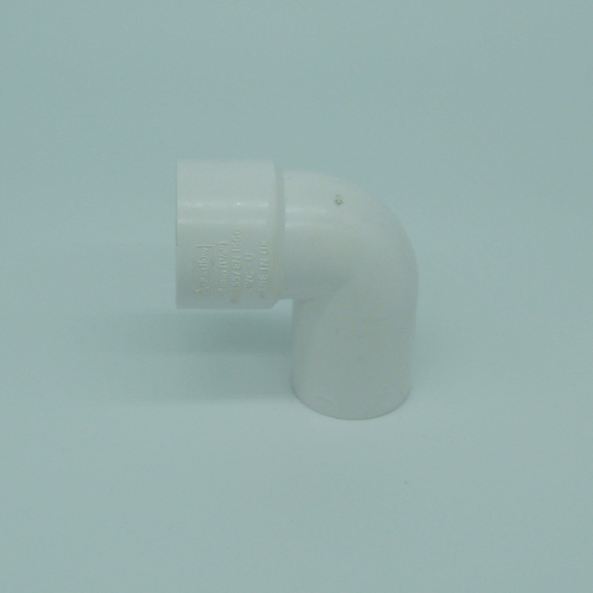 32mm solvent weld 90 street bend white