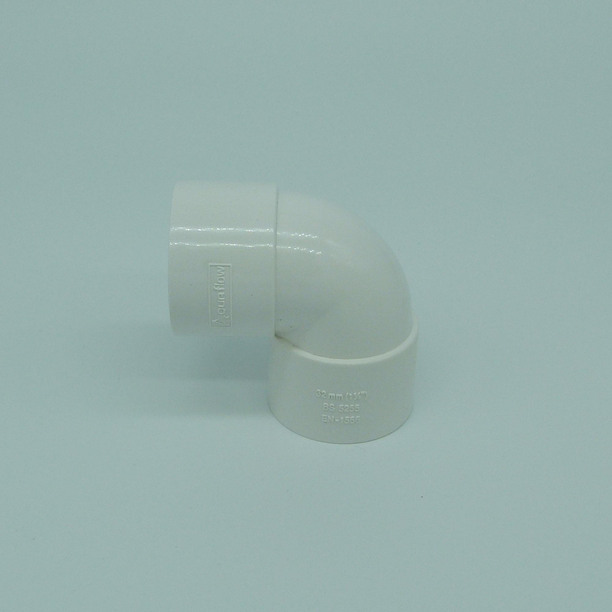 32mm solvent weld 90 tight bend white